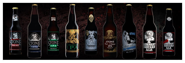 Stone Brewery Beers