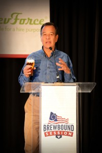 Jim Koch presents at the Brewbound Session in May, 2013