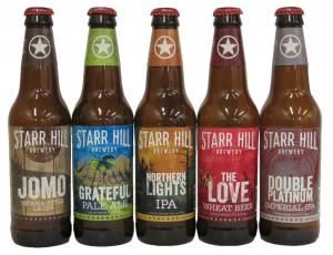 Starr Hill_New 12 oz Bottles