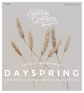 creature comforts day spring
