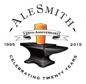 AleSmith 20th Anniversary Logo (Light Background)