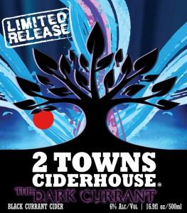 2 Towns Cider Dark Currant