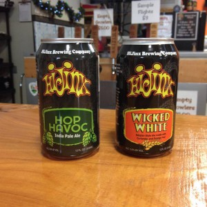 HiJinx Brewing Company Expands Distribution With  First Two Canned Beers
