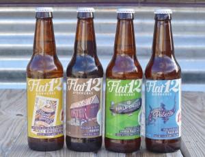 Flat12 Bierwerks bottles
