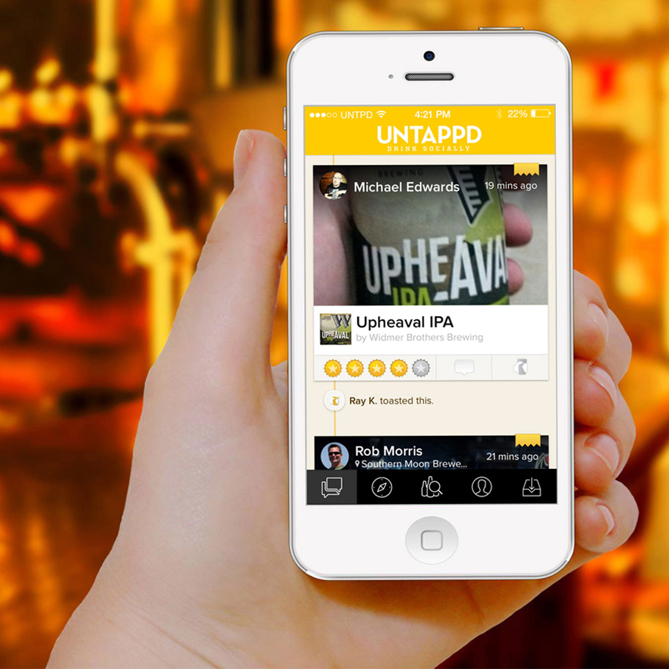 Untappd Merges With Beer And Wine Recommendation App Next