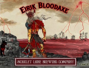 Scarlet Lane Brewing Company Announces Eirik Bloodaxe Braggot Ale Bottle Release
