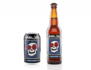 Red Brick Laughing Skull Lager