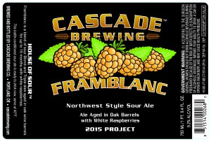 Cascade Brewing releases Framblanc 2015 in bottles and on draft