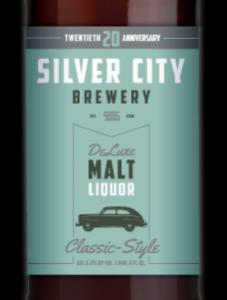 Silver City Brewery Malt Liquor