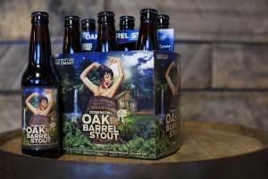 Dominion Brewing oak barrel stout