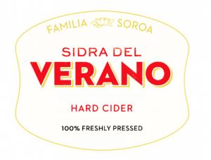 Sidra Del Verano Hard Cider, Beverage 364