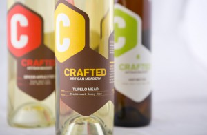 crafted artisan meadery bottles