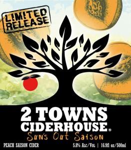 2 Towns Ciderhouse Sun's Out Saison