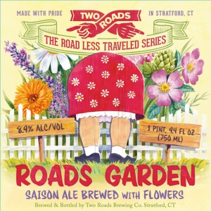 Two Roads Roads Garden Saison with Flowers