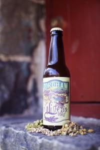 Fordham & Dominion Brewing wisteria wheat bottle 3