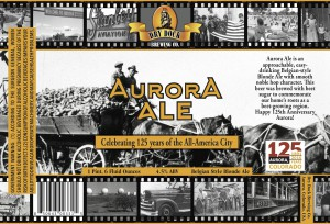Dry Dock Brewing Aurora Ale Label