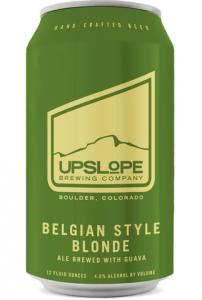 Upslope Brewing Belgian Style Blonde