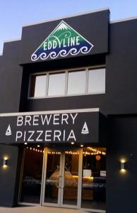 Eddyline Brewery new zealand facility and pizzeria