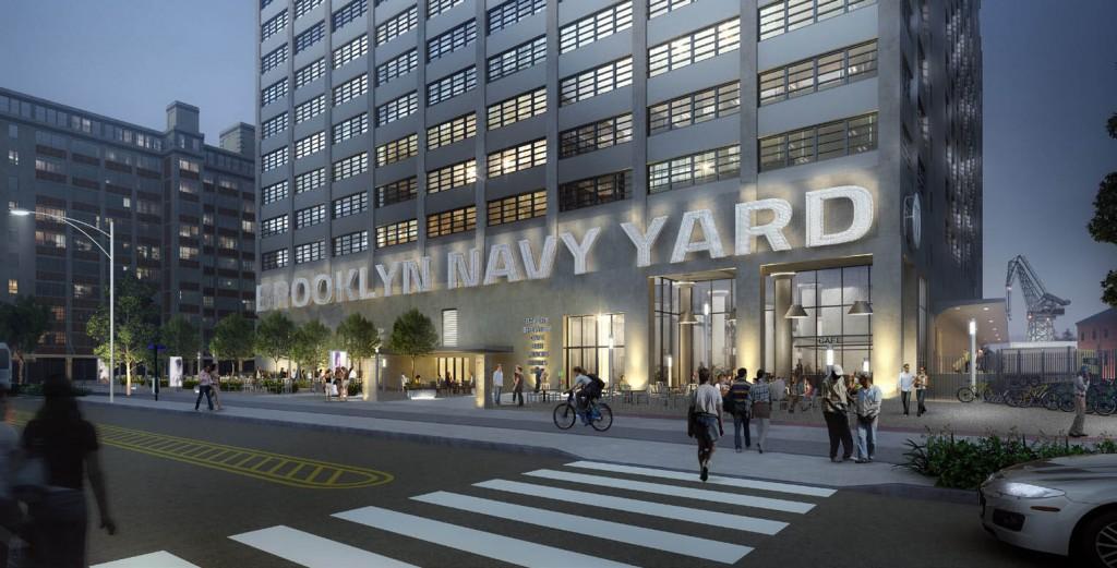 Brooklyn Navy Yard Build 77 moc up