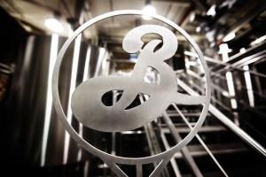 Brooklyn Brewery metal logo