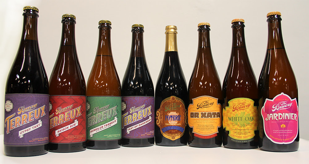 Bruery & Bruery Terreux bottle line up