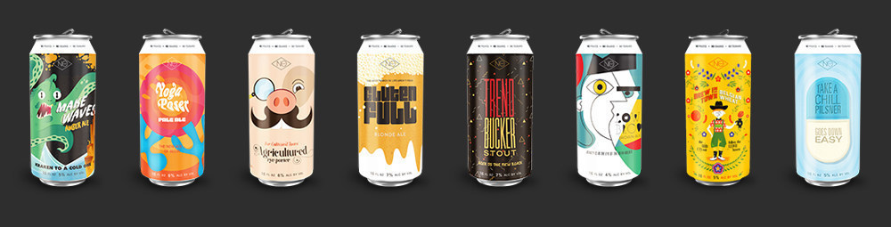 NoCoast Beer Co Product Lineup