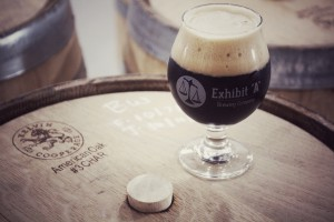 Exhibit 'A' Brewing Company Begins Barrel Aging Program