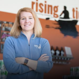 Rising Tide's Sanborn is running for Maine's statehouse. (Credit: Kevin Fahrman, Foreside Photography)