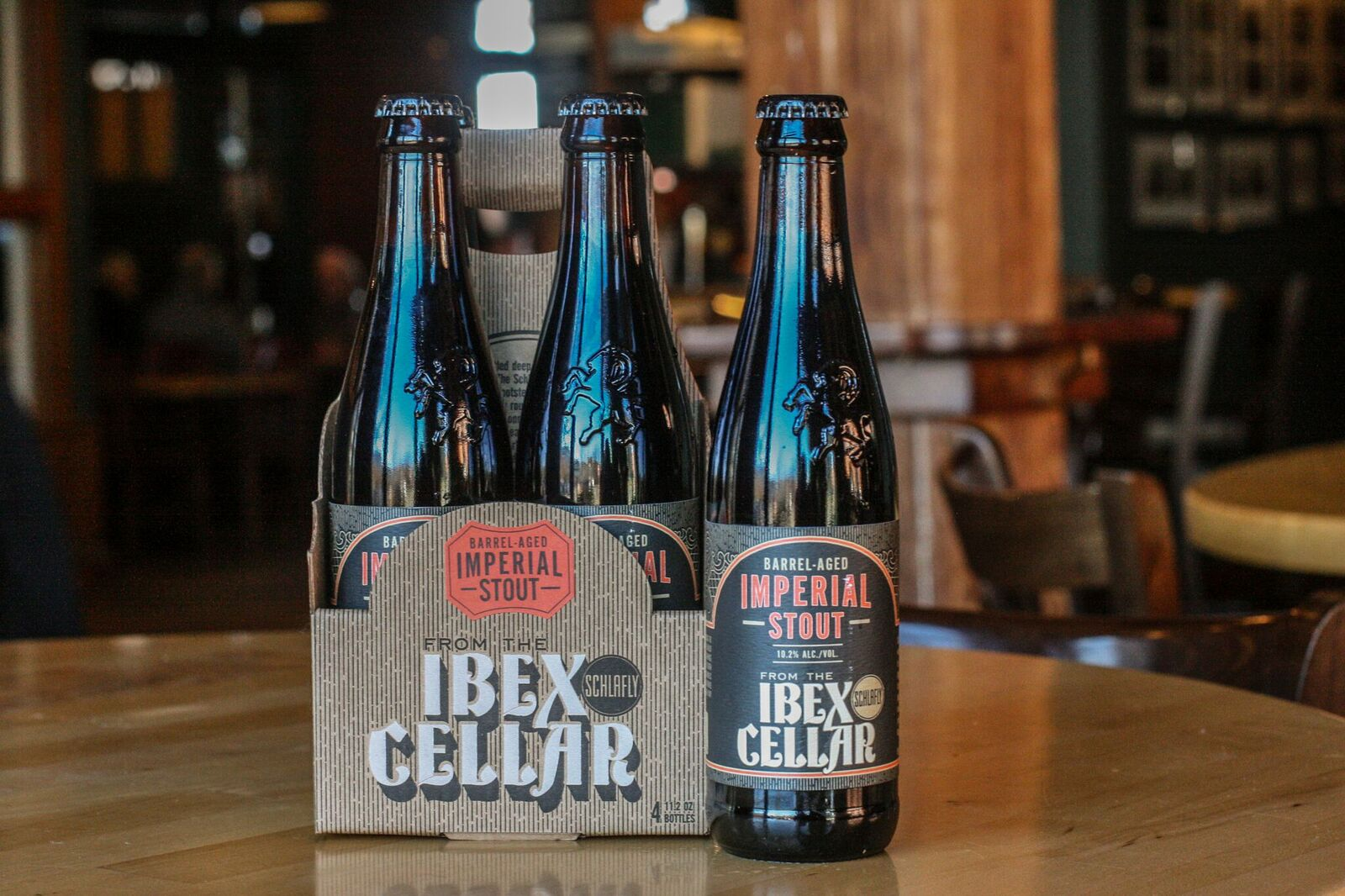 LOUIS Schlafly Beer Introduces Today A New Premium Series For 2017 From The Ibex Cellar Collection Over Year And Half In Making