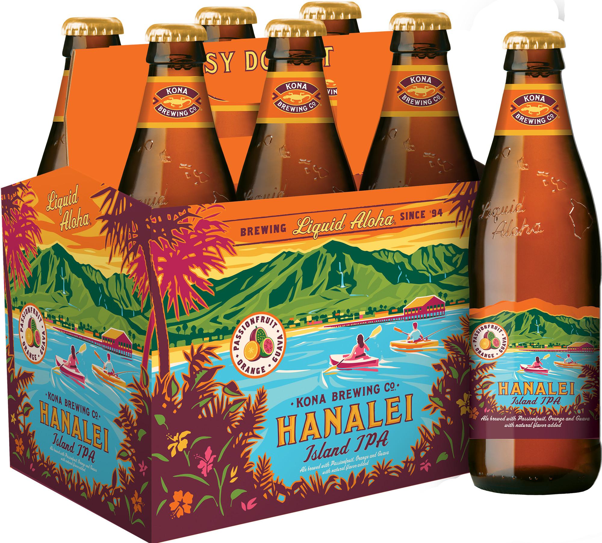 Craft Brew Alliance Launches New Kona Hanalei Island IPA in California ...