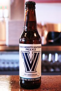 Cape May Brewing Company Releases Demisemiseptcentennial Ale: a 175th Anniversary Commemorative Beer for Villanova University