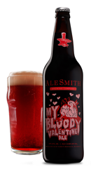 AleSmith My Bloody Valentine Beer for Valentines-18 states, Denmark