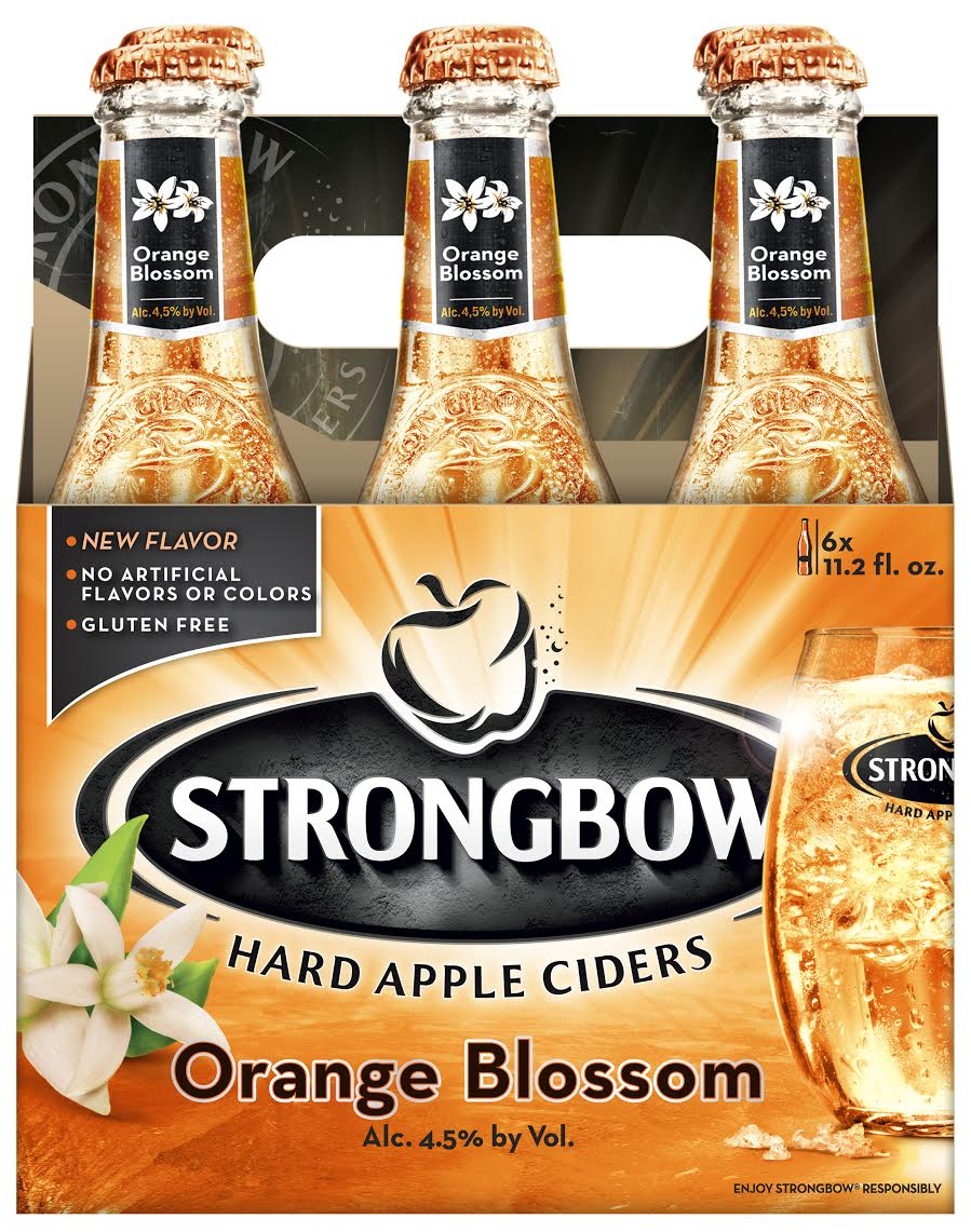 Strongbow Hard Apple Ciders Introduces New Orange Blossom Flavor