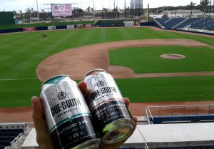 Due South Brewing Company Becomes Craft Beer Partner Of The Ballpark Of The Palm Beaches