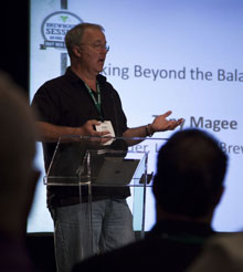 Tony Magee presents at the Brewbound Session in 2012