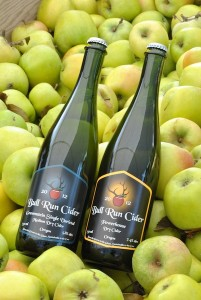 bull run cider bottles