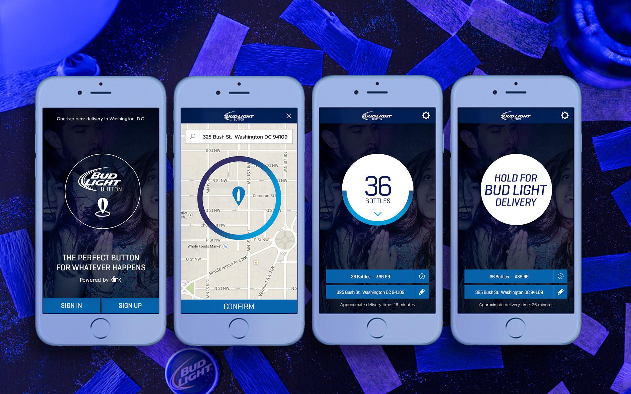 Anheuser-Busch Introduces Bud Light Delivery App | Brewbound com