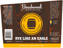 beachwood rye like an eagle