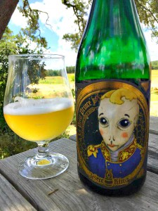 jester king green bottle
