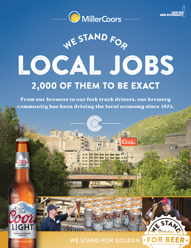 MillerCoors U201cStands For Beeru201d In New Ad Campaign Photo