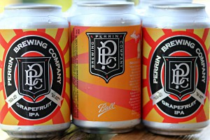 Grapefruit IPA Cans