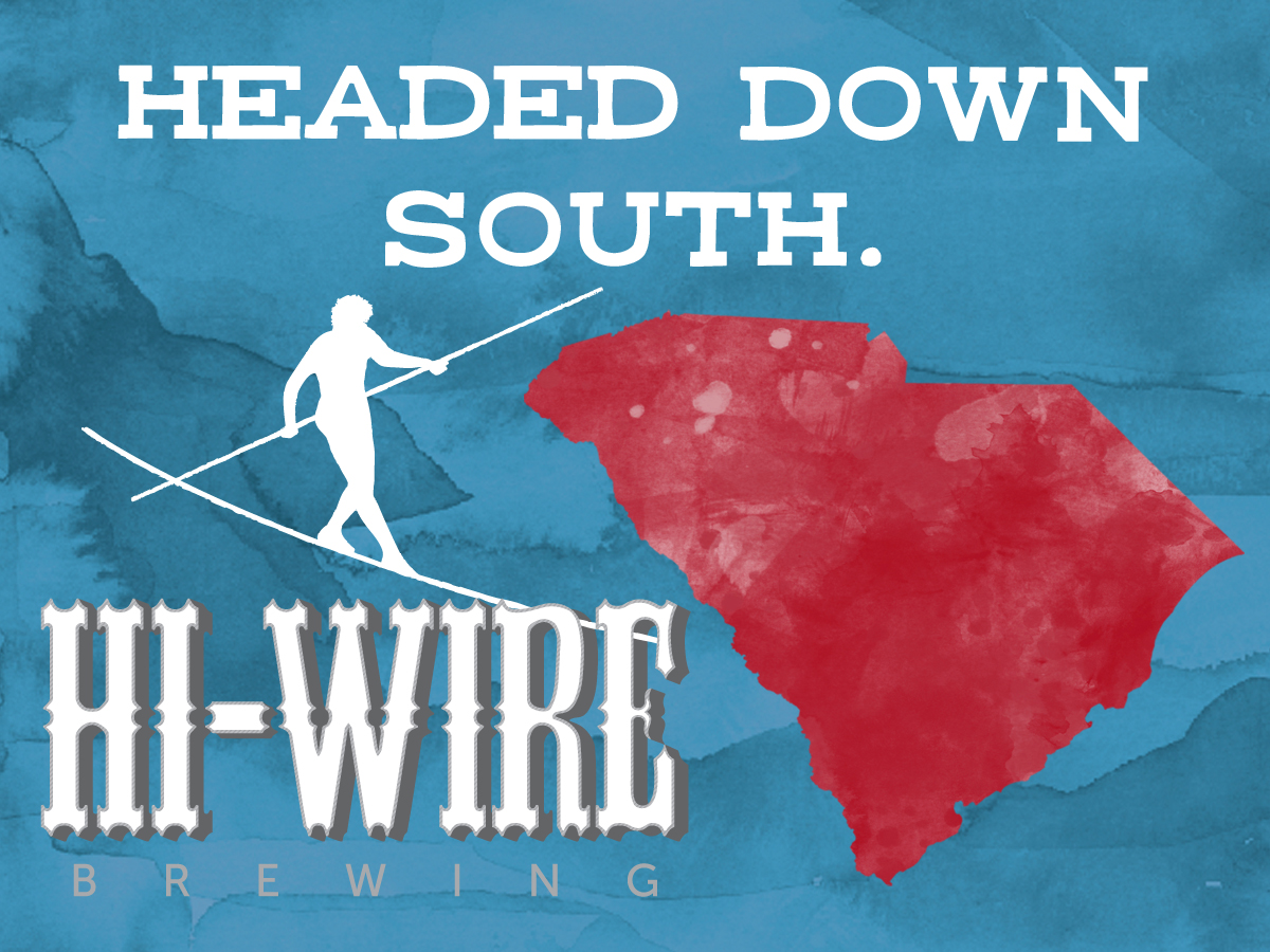 Hi-Wire Brewing Announces South Carolina Launch   Brewbound.com