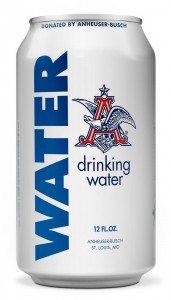 ANHEUSER-BUSCH EMERGENCY DRINKING WATER