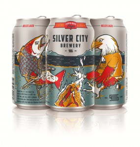 Silver City Brewery Cans