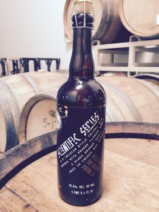 Surf Brewery® Releases Scientific Series™ Barrel Aged B-01:Belgian Tripel brewed with orange flower honey and blood red orange peels and aged in French oak barrels.