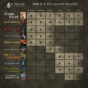 B Nektar 2016 schedule