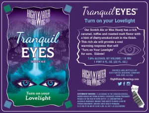 High Water Releases Tranquil Eyes