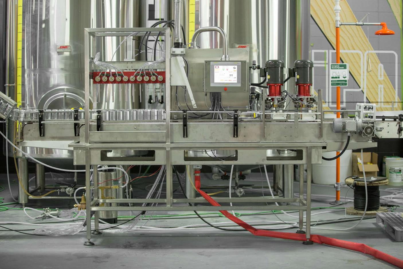 Cask Unveils New Acs X2 Canning Line Brewbound Com