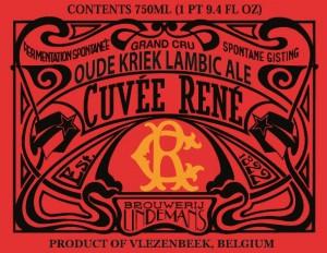 Lindemans Oude Kriek Cuvee Rene
