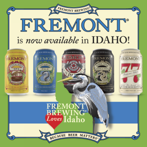 Fremont Brewing Enters Idaho Plans To Double Production In 2016